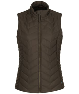 Women's Alan Paine Surrey Quilted Gilet - Olive