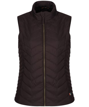 Women's Alan Paine Surrey Quilted Gilet - Peat