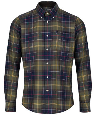 Men's Barbour Tartan 4 Tailored Shirt - New Classic Tartan