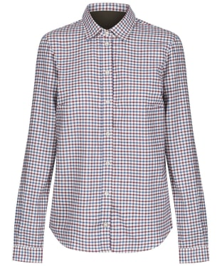 Women's Le Chameau Stanway Shirt - Navy Check
