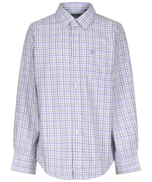 Boy's Alan Paine Ilkley Shirt, 3-16yrs - Blue / Beige