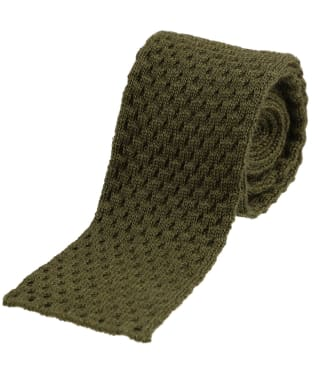 Men's Alan Paine Knitted Wool Tie