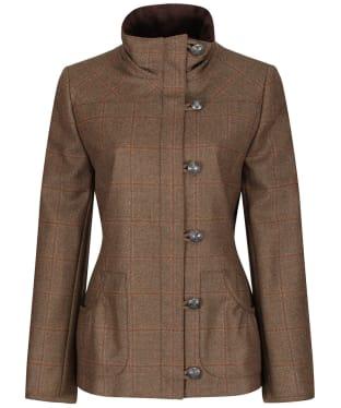 Women's Dubarry Bracken Tweed Jacket - Connacht Oak
