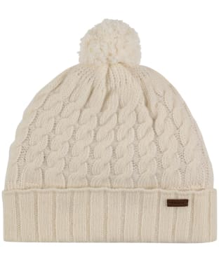 Women's Dubarry Athboy Knitted Bobble Hat - Ivory