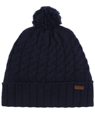 Women's Dubarry Athboy Knitted Bobble Hat - Navy