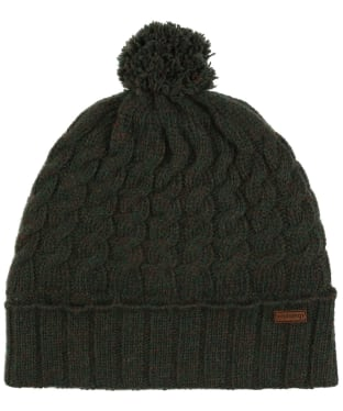 Women's Dubarry Athboy Knitted Bobble Hat - Olive