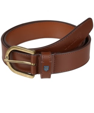 Men's Dubarry Porthall Leather Belt - Chestnut