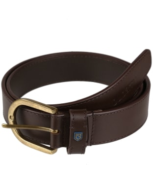 Men's Dubarry Porthall Leather Belt - Brown