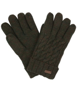 Women's Dubarry Buckley Knitted Gloves - Olive