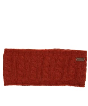 Women's Dubarry Fossa Knitted Headband - Russet