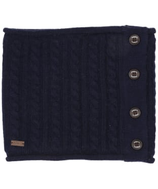 Women's Dubarry Crawford Knitted Neckwarmer - Navy