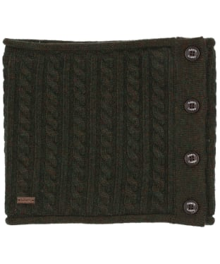 Women's Dubarry Crawford Knitted Neckwarmer - Olive