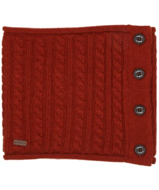 Women's Dubarry Crawford Knitted Neckwarmer - Russet