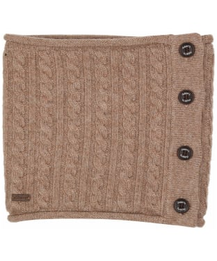 Women's Dubarry Crawford Knitted Neckwarmer - Stone