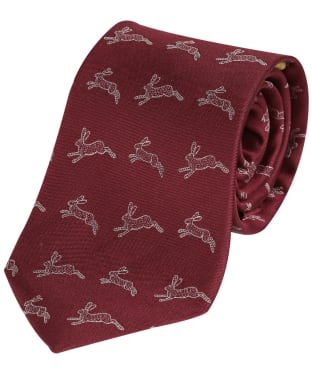 Men's Dubarry Lacken Silk Tie - Merlot