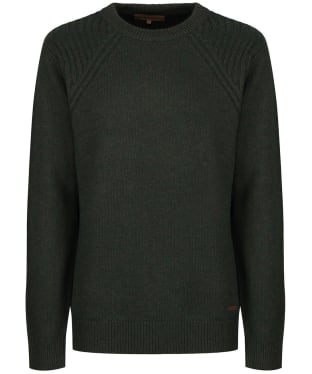 Men's Dubarry Kenny Crew Neck Sweater - Olive