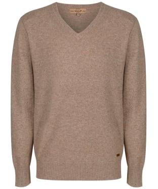 Men's Dubarry Lynch V-neck Sweater - Stone