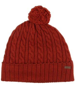 Women's Dubarry Schull Knitted Hat - Russet