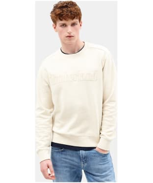 Men's Timberland Taylor River TBL Crew Sweater - White Smoke Heather
