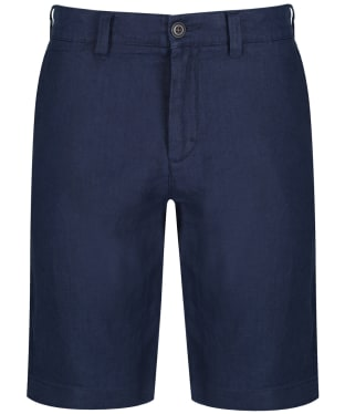 Men's Schoffel Linen Shorts - Navy