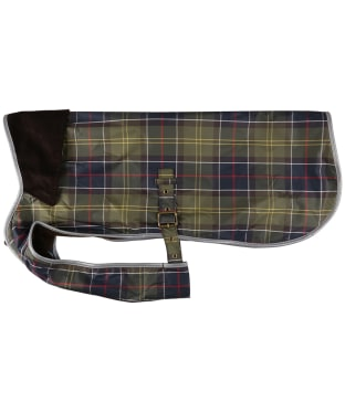 Barbour Tartan Waterproof Dog Coat - Classic Tartan