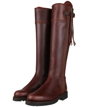 Women's Penelope Chilvers Long Tassel Boots - Conker Brown