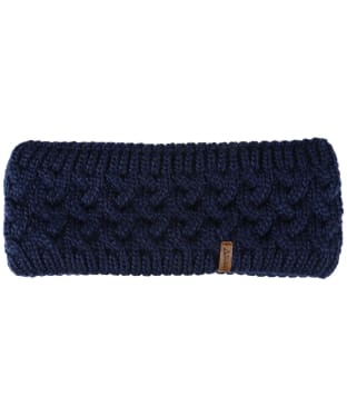 Women's Schoffel Headband - Navy Blue