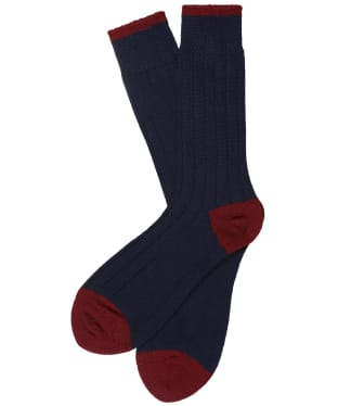 Men's Schoffel Hilton Socks - Navy