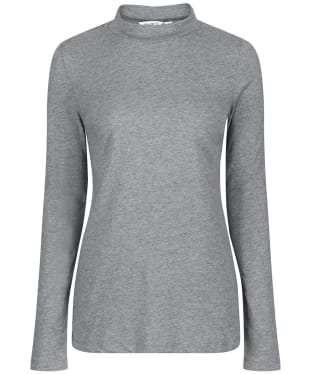 Women's Lily & Me Turtle Neck Top - Grey