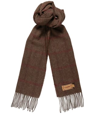 Women's Schöffel House Tweed Scarf - Sussex Tweed