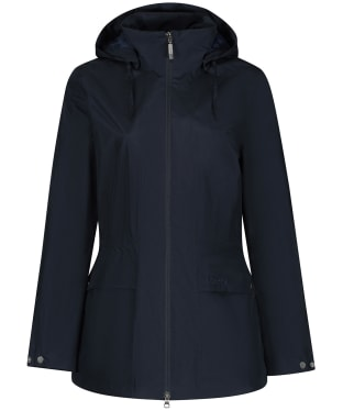 Women's Schoffel Hazelwood Packaway Waterproof Coat - Navy Blue
