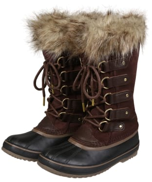Women's Sorel Joan of Arctic Waterproof Leather Boots - Cattail