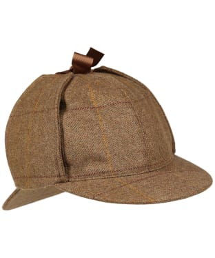 Men's Laksen Firle Tweed Highland Hat - Firle Tweed