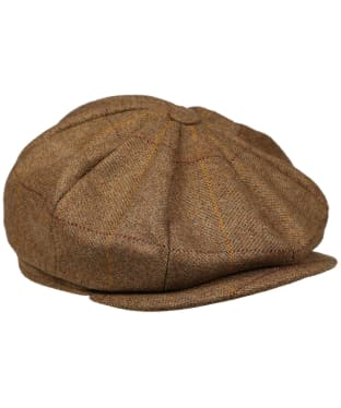 Men's Laksen Firle Tweed Butt Shy Cap - Firle Tweed