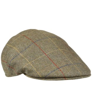 Men's Laksen Woodhay Tweed Balmoral Cap - Woodhay Tweed