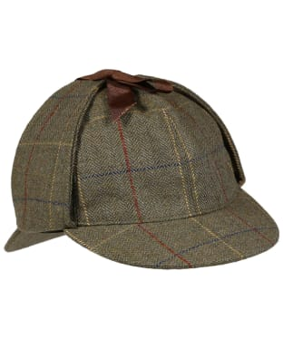 Men's Laksen Woodhay Tweed Highland Hat - Woodhay Tweed