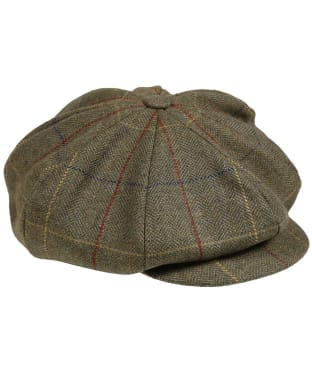 Men's Laksen Woodhay Tweed Newsboy Cap - Woodhay Tweed