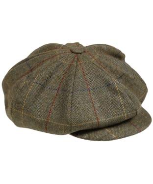 Men's Laksen Woodhay Tweed Newsboy Cap