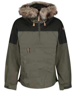Men's Fjallraven Singi Anorak - Laurel Green / Deep Forest
