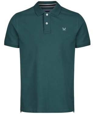 Men's Crew Clothing Classic Pique Polo Shirt - Ivy
