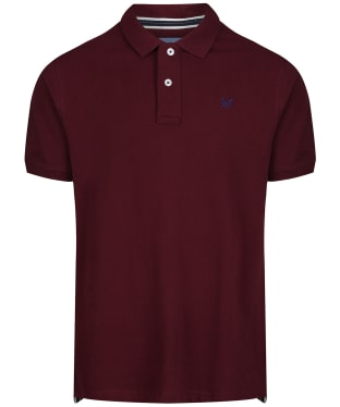 Men's Crew Clothing Classic Pique Polo Shirt - Port Royale