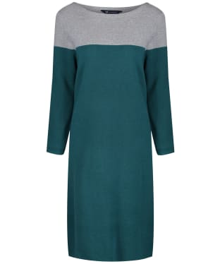 Women's Crew Clothing Milano Colourblock Dress - Ivy / Grey