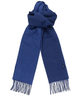 Men's Crew Clothing Lambert Wool Scarf - Navy / Cobalt