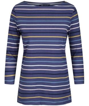 Women's Crew Clothing Essential Breton Top - Midnight