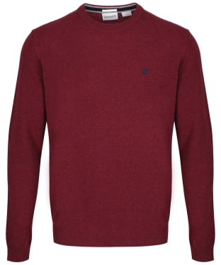 Men's Timberland Cohas Brook Merino Crew Neck Sweater - Syrah