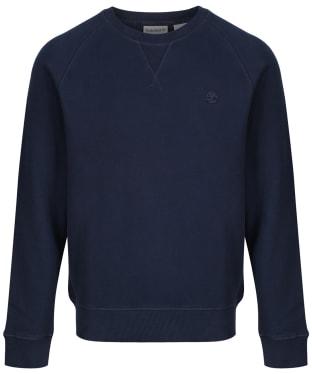 Men's Timberland Exeter River Basic Crew Sweater - Dark Navy