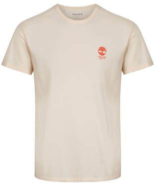 Men's Timberland SS Working Ad Inspired Tee - White Smoke