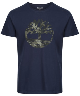 Men's Timberland SS Kennebec River Tree Tee - Dark Navy