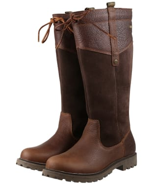 Women's Barbour Ingleton Boots - Chocolate