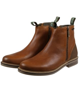 Men's Barbour Durham Boots - Cognac